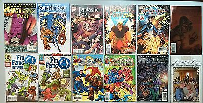 Nice Mix Lot: 12 Issues of FANTASTIC FOUR (from Various Series)