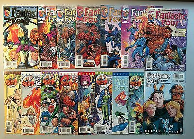 Nice Run of 16 x FANTASTIC FOUR (Marvel Comics, 1998) Issues #35 to #50