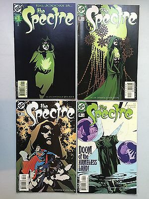 Set of SPECTRE (Hall Jordan) DC Comics, 2001 - Issues #1 to #4