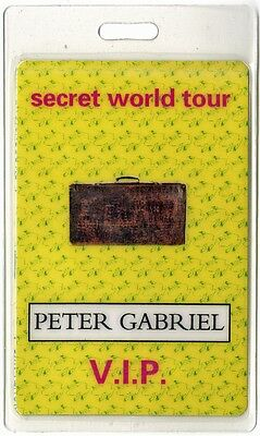 Peter Gabriel VIP 1993-1994 Laminated Backstage Pass