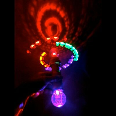 The Amazing Atomic Spinner - This light up flashing product is AWESOME!