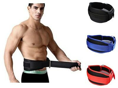 Training Weight Lifting Fitness Belt Back Waist Support Protection Brace Bands