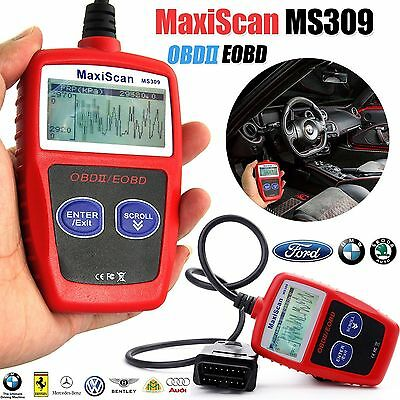 Car Fault Code Reader MaxiScan MS309 Engine Scanner Diagnostic OBD2/EOBD AUTEL