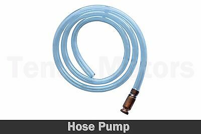 1.8m Self Priming Syphone Drainer Hose Pump + Nozzle for Fuel Petrol Water /1512