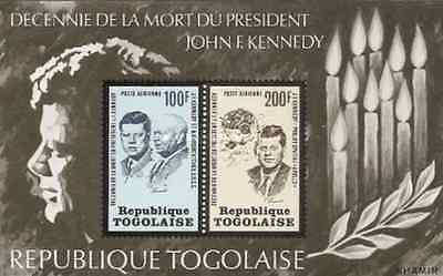 Timbres Personnages Kennedy Togo BF72 * lot 16484
