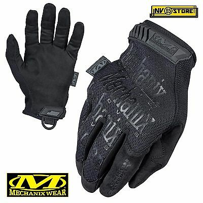 Guanti MECHANIX Original Tactical Gloves Softair Security Antiscivolo Caccia BK