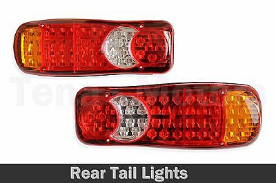 2x Rear Tail Stop 12V / 24V LED Lights Lamps Trailer Truck Lorry Tipper /026