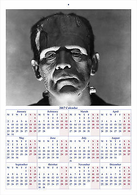 The Bride of Frankenstein - 2017 A4 CALENDAR **BUY ANY 1 AND GET 1 FREE OFFER**