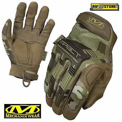 Guanti MECHANIX M-PACT Tactical Gloves MPT78 Softair Security Antiscivolo Caccia