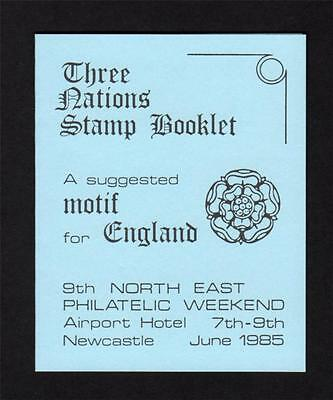 1985 North East Philatelic Weekend Privately Produced Booklet
