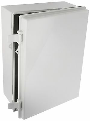 BUD NEMA Box Plastic Solid Door Lockable Electrical Enclosure 15.7x11.7x 6.3