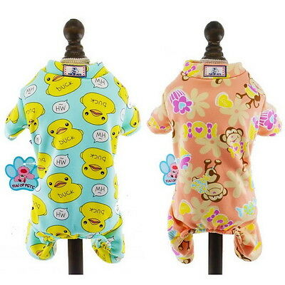 Pajamas for Pets Dog Pjs Cat Payjamas Pet Homwear Leisure 8 Style XS S M L XL GH