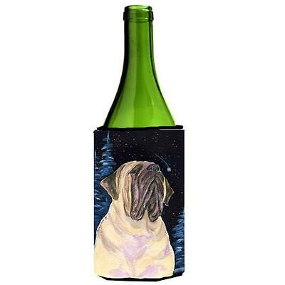 Carolines Treasures Starry Night Mastiff Wine bottle sleeve Hugger 24 oz.