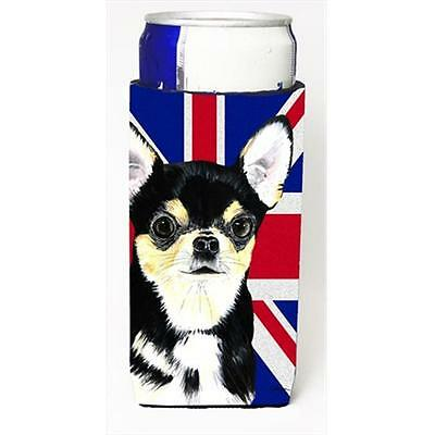 Chihuahua With English Union Jack British Flag Michelob Ultra bottle sleeves ...