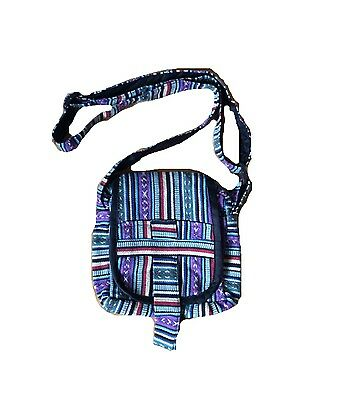 Nepalese Shoulder Bag, HAND MADE, Across The Body Bag, Gheri Boho Chic Festival