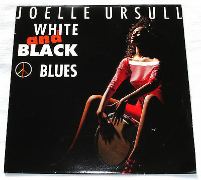Joëlle Ursull WHITE AND BLACK BLUES Serge Gainsbourg 45 RPM Single 1990