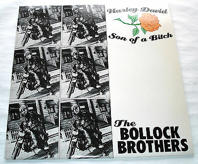 The Bollock Brothers HARLEY DAVID SON OF A BITCH Serge Gainsbourg Maxi Single 45