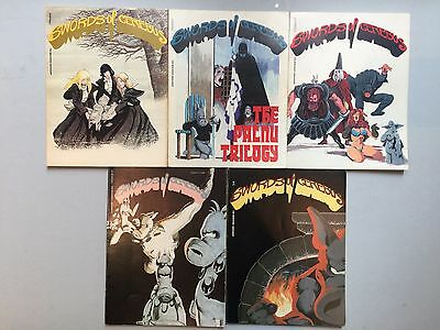 Nice Lot of 5 x old CEREBUS TPB - Reprints of First Issues of the run