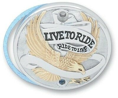 Live to Ride Points Cover Drag Specialties Gold 30-0152EA