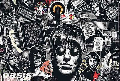 "55045 OASIS ENTERTAINMENT THE POSTER SHEET 24""x36"" MUSIC ROCK CONCERT NEW SIDE"