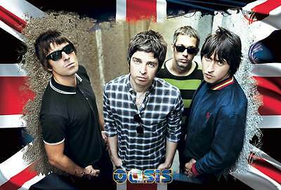 "O-7055 OASIS ENTERTAINMENT THEPOSTER SHEET 24""x36"" MUSIC ROCK CONCERT NEW 1 SIDE"
