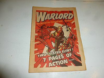 WARLORD Comic - Issue 5 - Date 26/10/1974 - UK Paper Comic