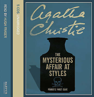 The Mysterious Affair at Styles: Complete & Unabridged by Agatha Christie (CD-Au