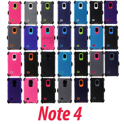 """For Samsung Galaxy 4 Case Rugged Cover """"Plus Clip Fit Otterbox Defender Series"""""""