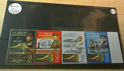 Brunei 2011 50 Years Armed Forces  MNH per scan