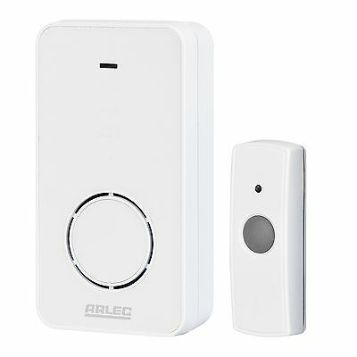 Arlec Wireless Door Chime Battery Operated range up to100mtrs 8 selectable tones