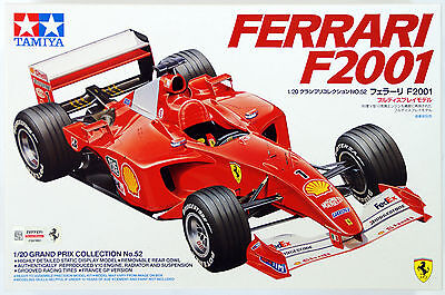 Tamiya 20052 Ferrari F2001 1/20 scale kit