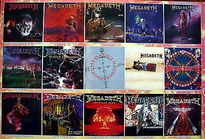"""MEGADETH BAND THE POSTER 24""""x36"""" MUSIC ROCK POP CONCERT NEW SIDE SHEET PM225"""