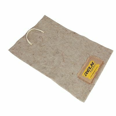 Reln WORM FARM BLANKET Made From All Natural Fibers, RECTANGLE