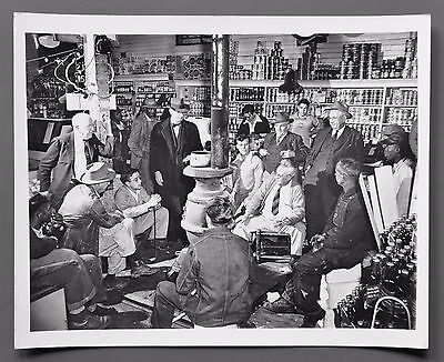 Sam Falk 1901-1991 Silver Gelatin Photo Print 25x20 Country Store New York Times
