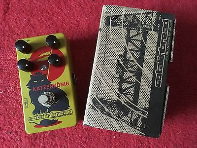 catalinbread katzenkönig fuzz distortion (rat, tonebender)