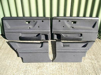 Vw Golf Mk2 Front And Rear Door Cards Rainbow Trim 3Dr Good Condition