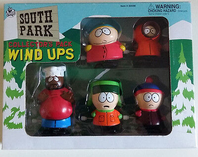 South Park Wind Ups 1998 Collector's Pack Mint Condition