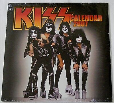 Kiss Usa 2007 Calendar    Still Sealed