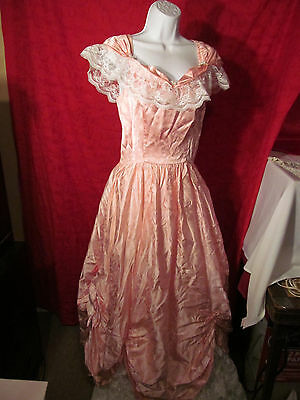 Southern Belle Gown Halloween Dress Adult Size 11/12