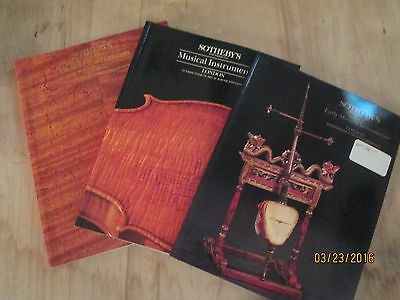 Sotheby's String Instrument Auction Catalogs #1