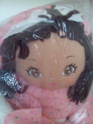 """Well Made Latina Sweetie Mine 48"""" Rag Doll in Pink Dress"""