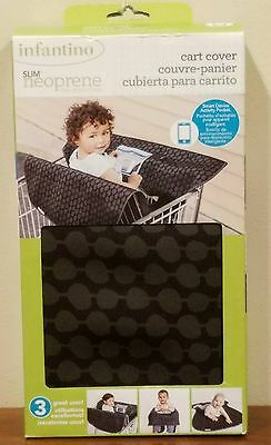 NEW Infantino Slim Neoprene Shopping Cart Restaurant Highchair Cover