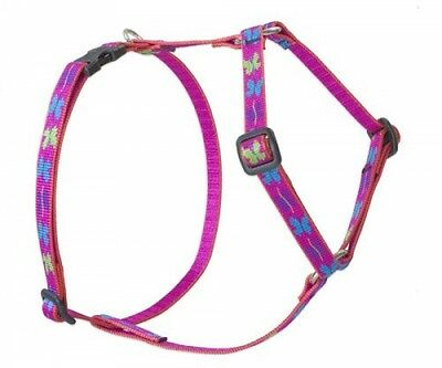 Lupine Wing It Patterned Roman Harness For Small Dogs, 1/2-inch/ 12 - 20-inch