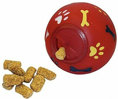 Kerbl Dog Snack Ball, 11 Cm Dia, Red