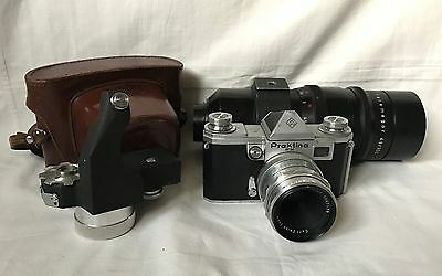 Kw Praktica Fx - With Two Lens And Spring Motor (Federmotor) - Cla