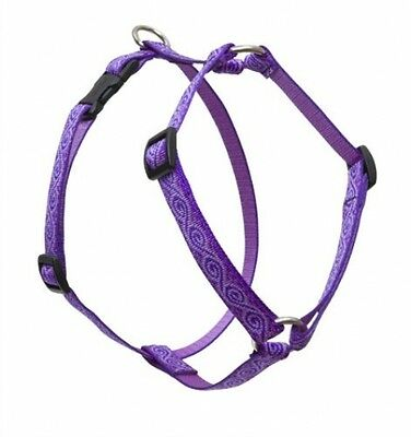 Lupine Jelly Roll Patterned Roman Harness For Small Dogs, 3/4-inch/ 12 - 20-inch