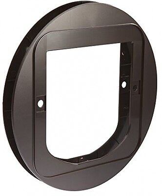 SureFlap Cat Flap Mounting Adapter, Brown
