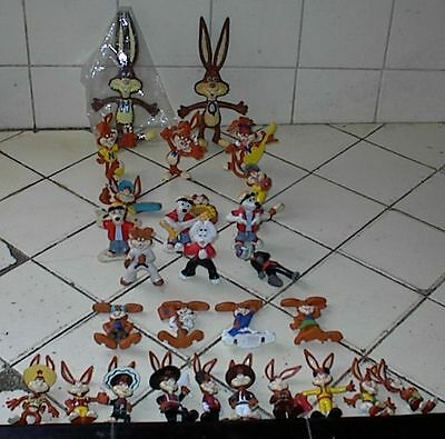 Nestles Nesquik Rabbit, Large Collection of 28 Different International Figures
