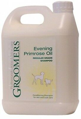 Groomers Evening Primrose Oil Shampoo 2.5 Litre