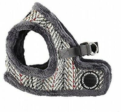 Puppia Oz Vest Harness B, Large, Red/Grey
